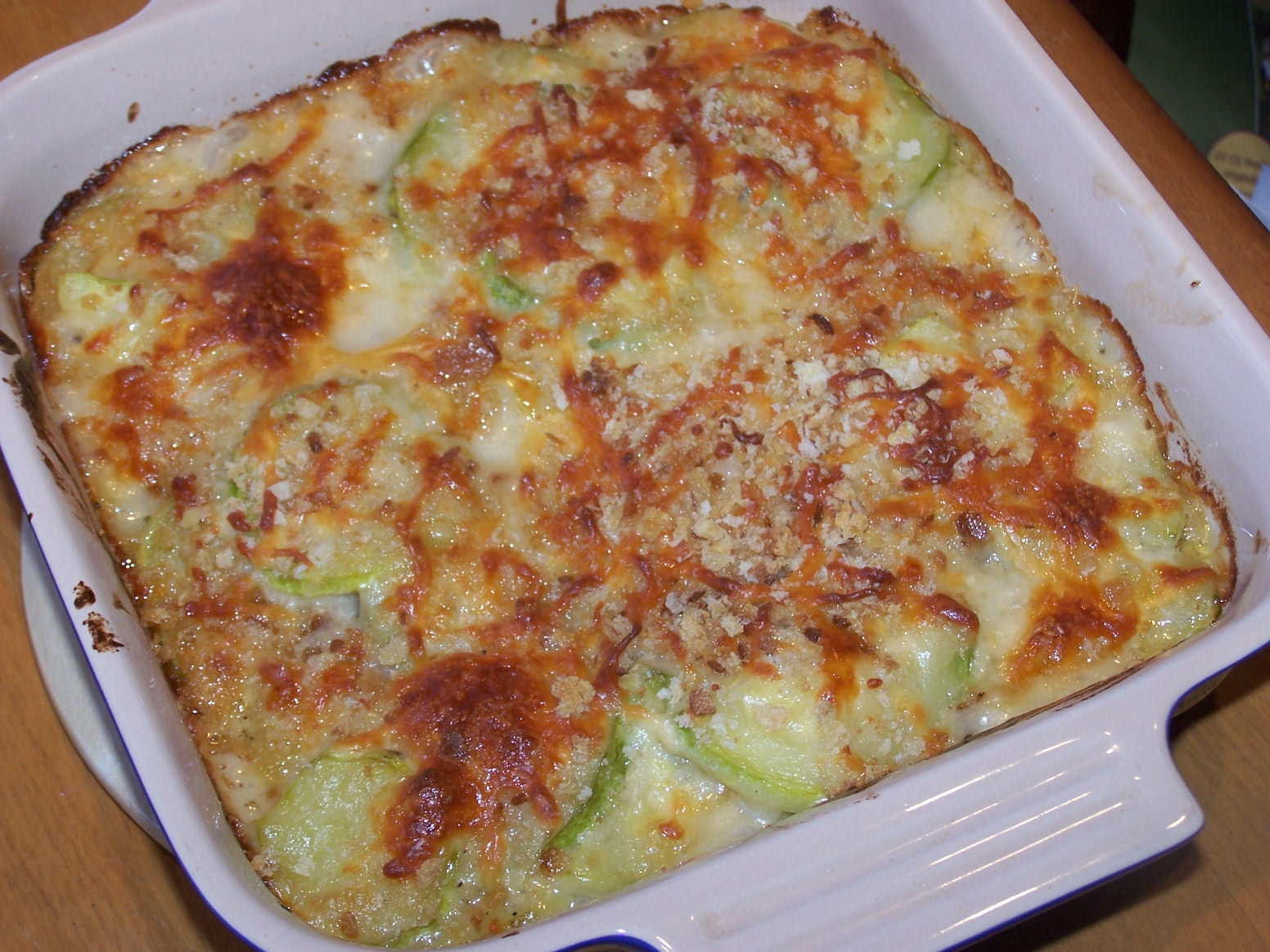 zucchini gratin express zucchini gratin with and then yes me and my ...